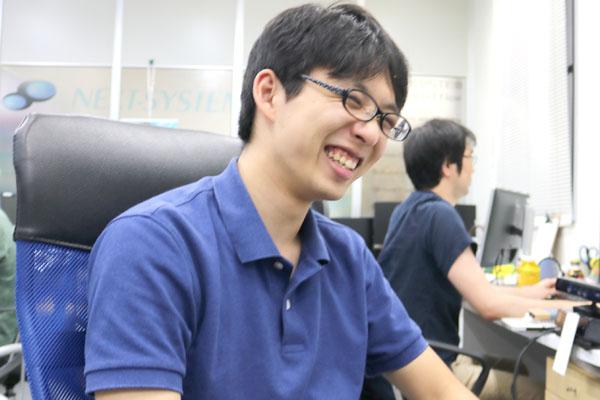 幸せそうな松村君