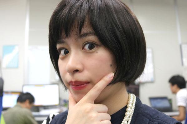 ドヤ顔の田中