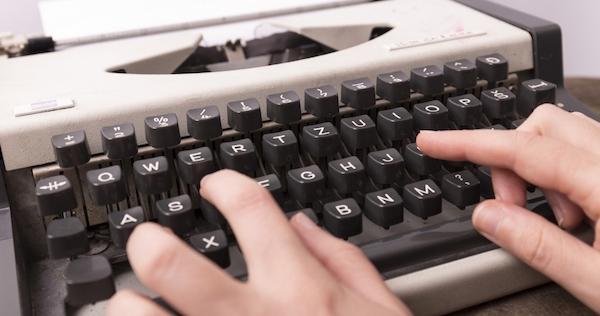 文字から書き起こす