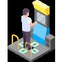 ジェスチャで衛生的なタッチレス操作
