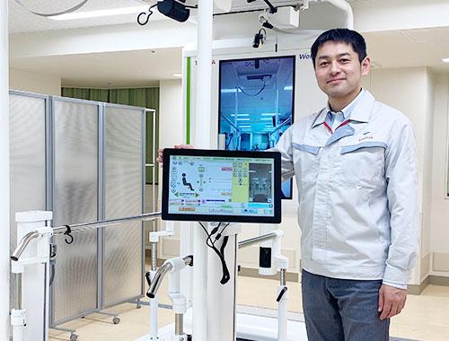 トヨタ自動車株式会社 リハビリテーション支援ロボット「ウェルウォークWW-2000」