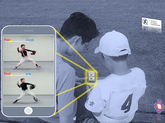 投球動作と投球障害の関連性を導くためにVisionPoseを利用