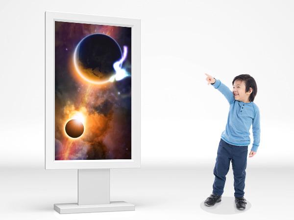 柔らかい光の軌道で小さなお子様から楽しめます