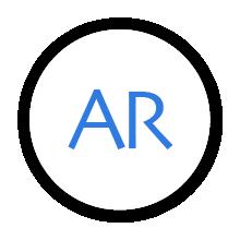 ARモードボタン