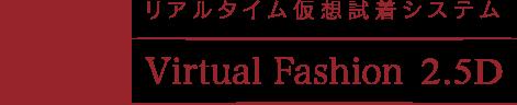 Virtual Fashion 2.5D Logo