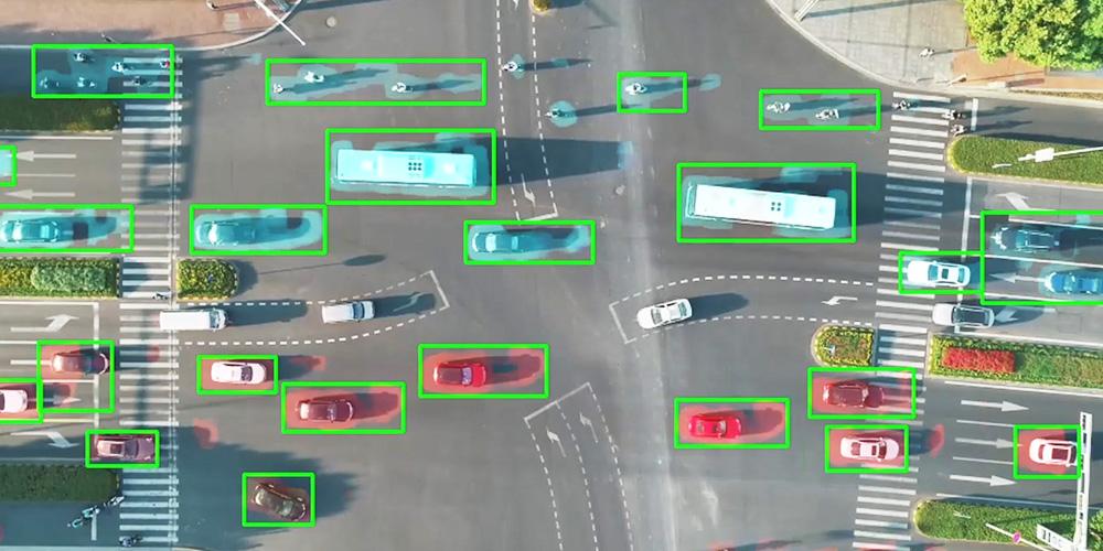 交通量を可視化したい