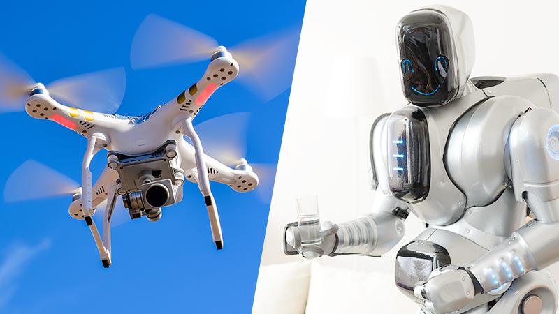 ドローンなど自律ロボットが自律走行する際の衝突回避など