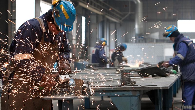 工場作業の姿勢負荷の可視化