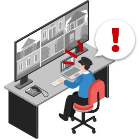 PC・スマートフォン・タブレットなど、様々な端末で運用可能