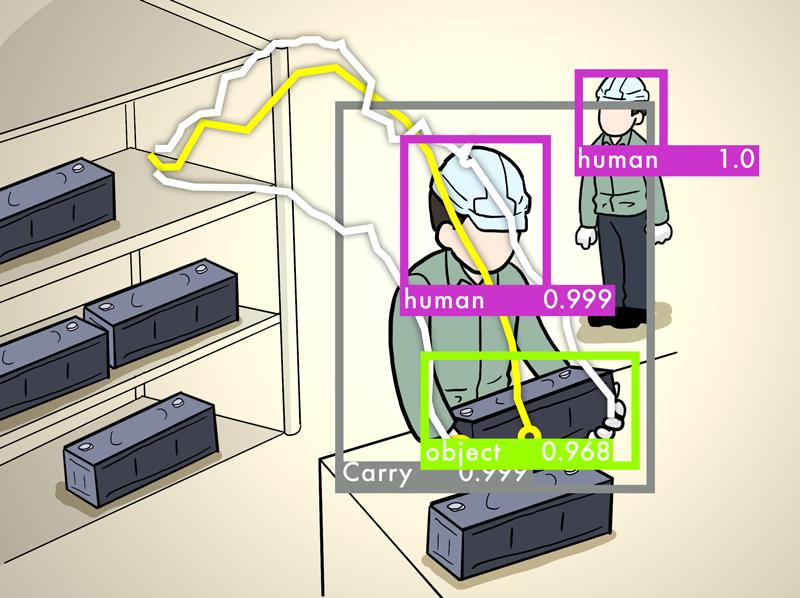 中型部品落下検知システム