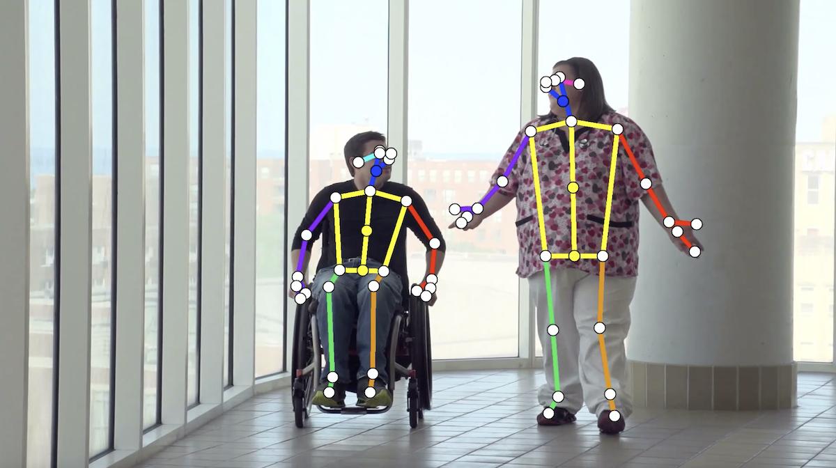 VisionPose Nano 車椅子